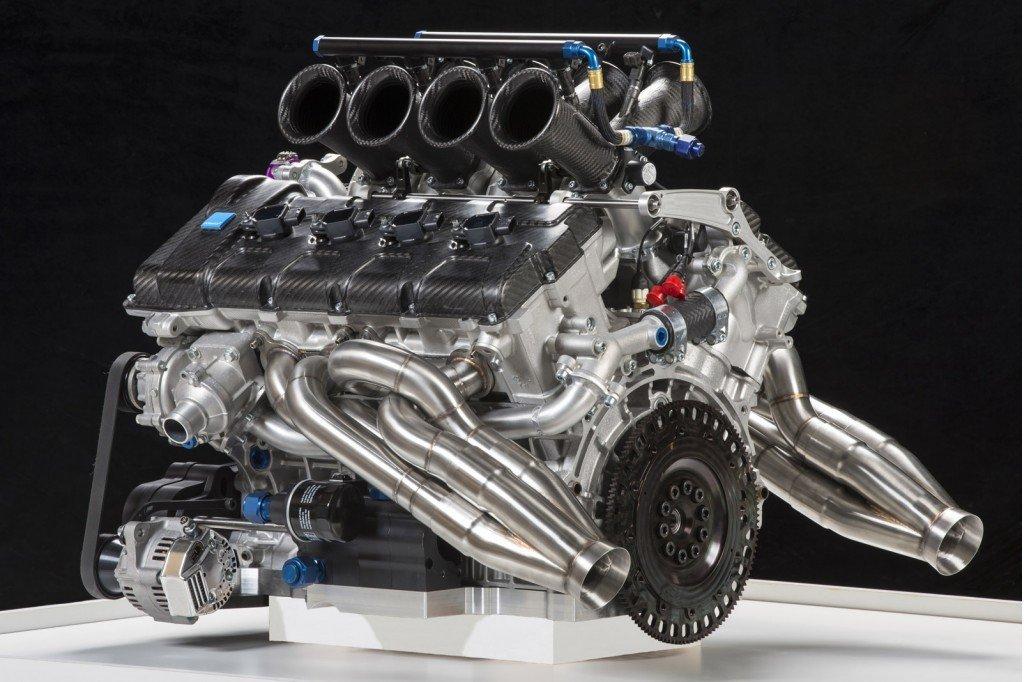Volvo's V8 Supercar motor