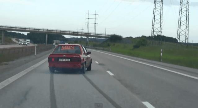 E30 Turbo is een strepentrekker