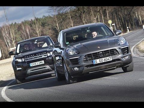 Porsche Macan vs Range Rover Evoque - Wat is de beste kleine SUV?