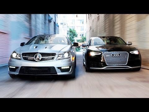 Audi RS5 vs Mercedes-Benz C63 507 Coupe
