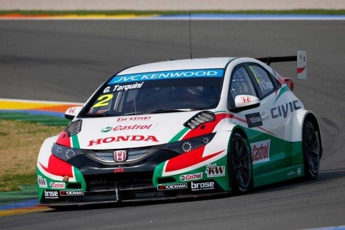 WTCC 2014 - Castrol Honda Civic Maakt Debuut