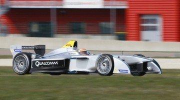 Jarno Trulli test Formule E