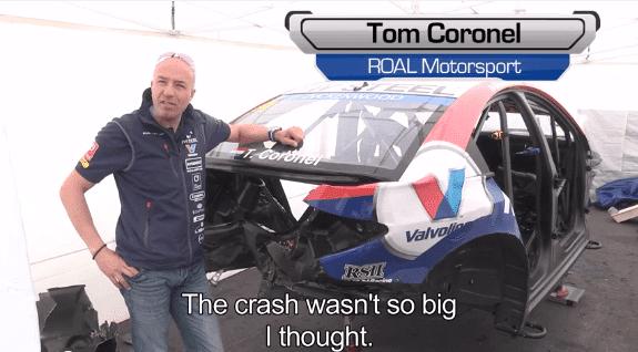 Crash Analyse van Tom Coronel