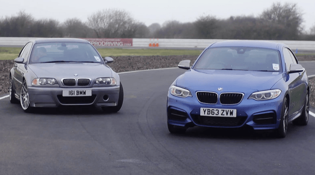 Track Battle: M3 CSL vs M235i