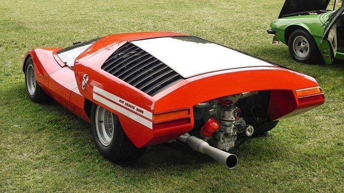 Video 1969 Fiat Abarth 2000 Scorpione Concept Bij Villa D