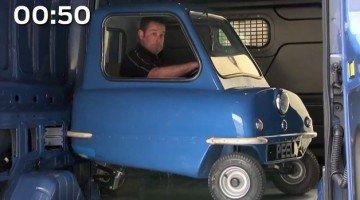 's Werelds kleinste auto en de Ford Transit