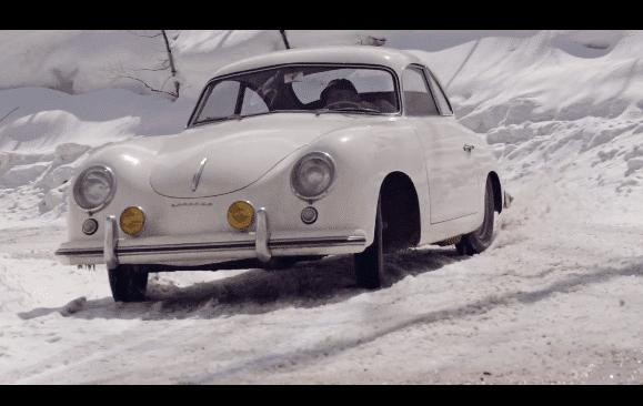 Een Porsche 356 voor de winter