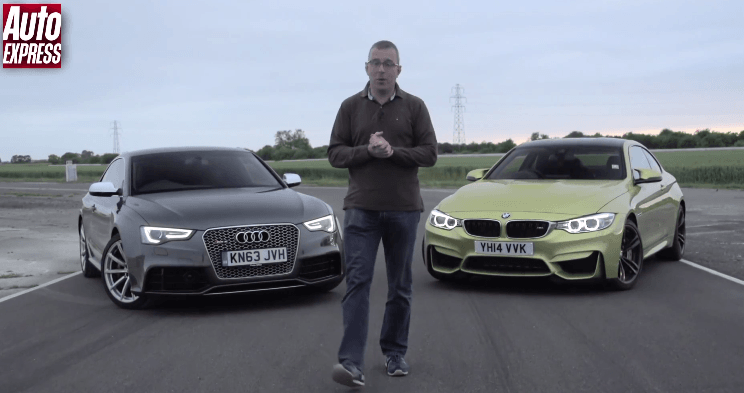 Track Battle: BMW M4 vs Audi RS5