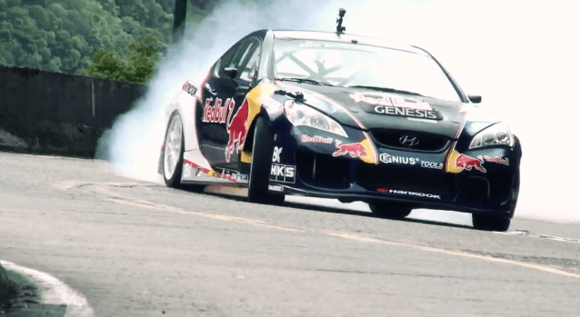 Rhys Millen Drift in Brazilie