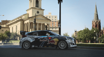 Rhys Millen Promoot Rallycross in Washington DC