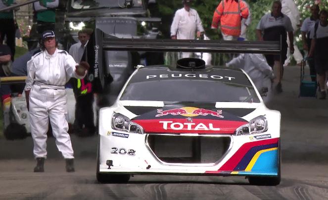 Sebastien Loeb Snelste Tijdens Goodwood 2014