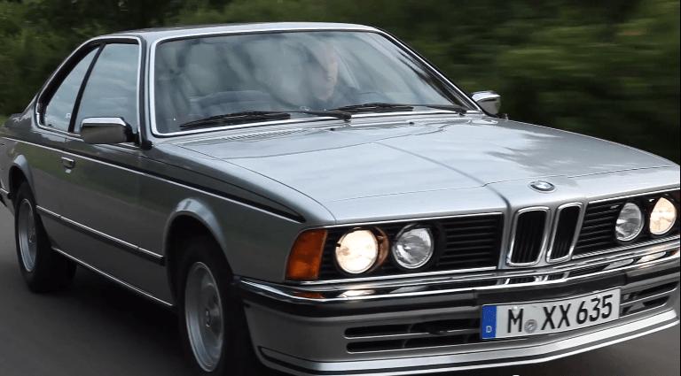 BMW blikt terug op de eerste 6-Serie