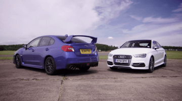 Audi S3 Sedan vs Subaru WRX STi