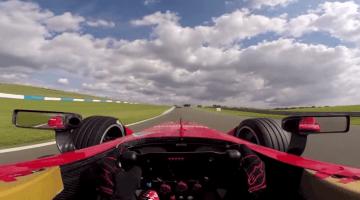 Onboard bij Formule E is erg stil