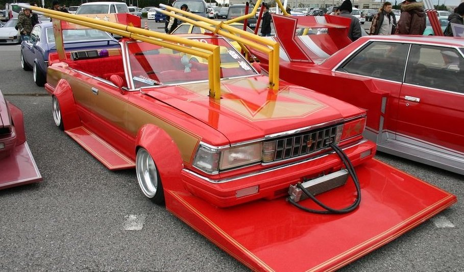 Video Extreme Tuning In Japan Bosozoku