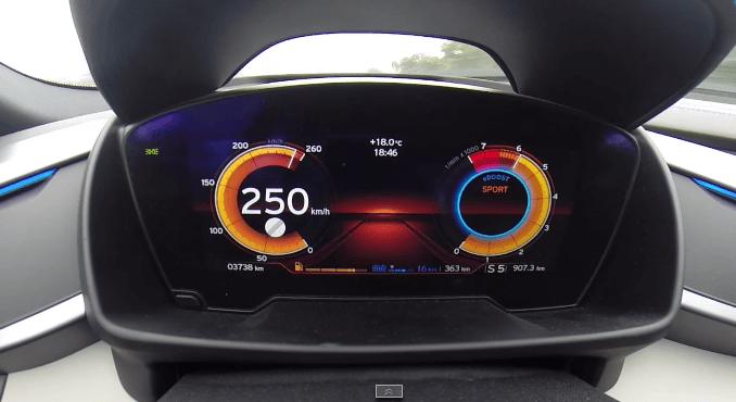 BMW I8 doet 0-250 km/h