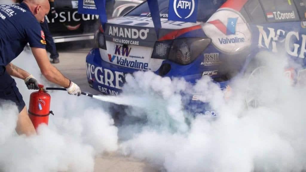 WTCC 2014 - Slecht Weekend Van Coronel in Argentinië