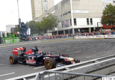 Max Verstappen Crash VKV City Racing 2014