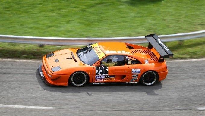 Deze Ferrari F355 GT is gebouwd voor Hillclimb