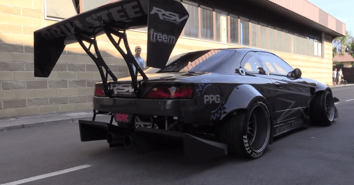 Brill Steel's Nissan S14 Silvia Time Attack is zo extreem!