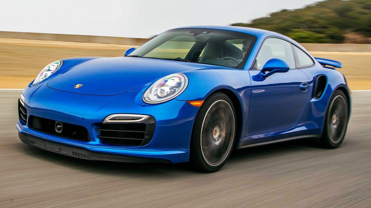 Best Drivers Car 2014 - Porsche 911 Turbo S Hot Lap