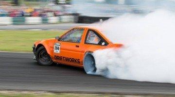 Driftworks' V8 Toyota AE86 Burns Rubber