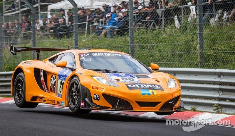 McLaren 12C GT3 Lap Record Full Nürburgring Circuit