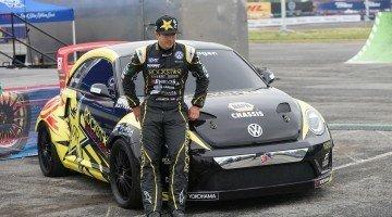 Tanner Foust gaat Rallycrossen met een VW Beetle