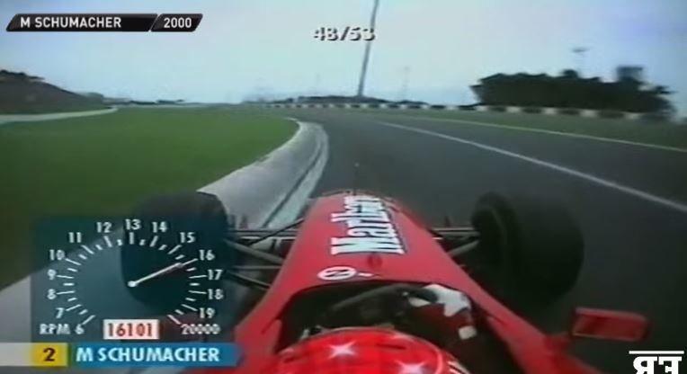 F1 Onboards 130R van 1989 tot 2013