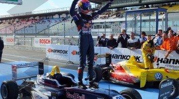 Verstappen eindigt als 3e in FIA F3 met meeste overwinningen