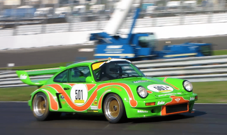 Porsche 911 RSR 3.6 Group 5 at HGP