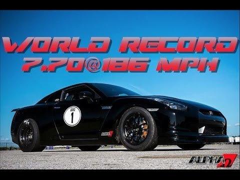 Alpha Omega zet GT-R Record iets scherper: 7.70 @ 297km/h