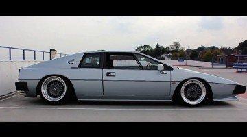 Lotus Esprit met Alfa V6 en luchtvering