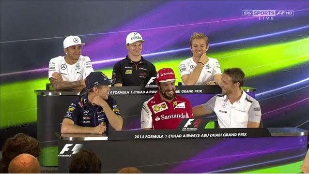 Alonso krijgt ongemakkelijk vraag over Button als teamgenoot