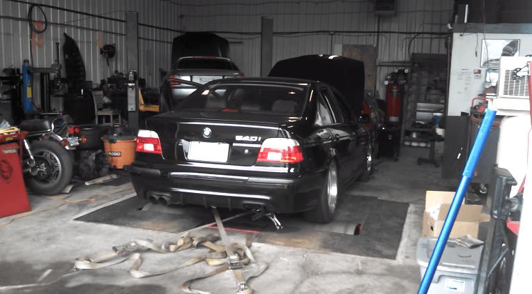 Duitse degelijkheid met Amerikaanse muscle - BMW E39 6.0 LSx