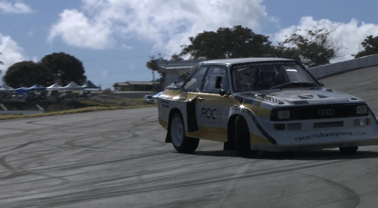 Stig Blomqvist + Audi S1 Quattro = Scandinavian Flick