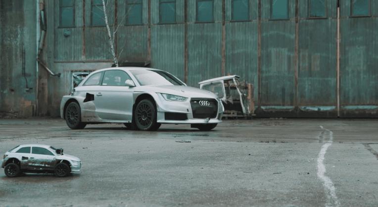 Audi S1 Rallycross vs RC Car