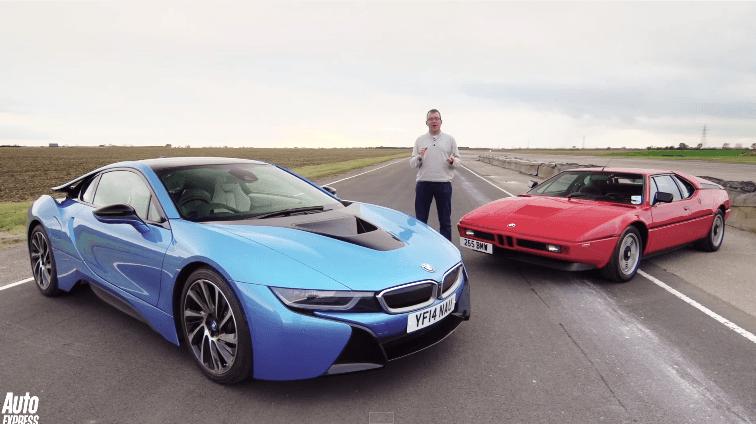 Wat hebben de BMW i8 en M1 met elkaar gemeen?