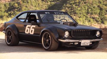 Tuned - '75 Corolla met Muscle Car DNA