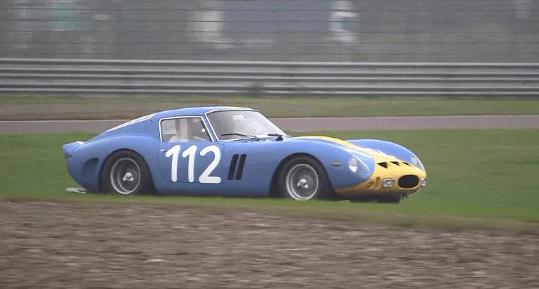 Ferrari 250 GTO terug op het circuit na langdurige restauratie
