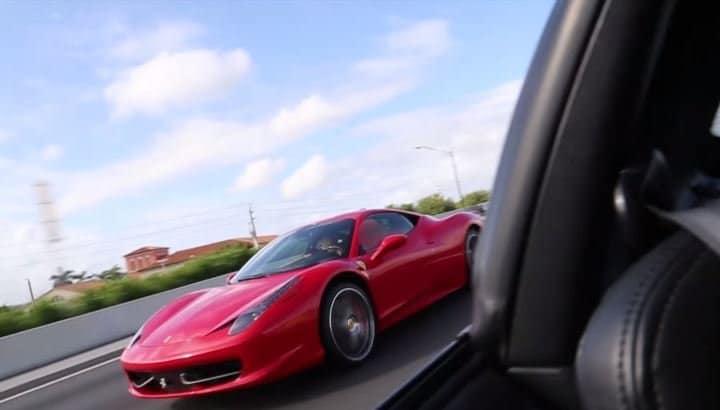 Ferrari 458 wil racen tegen Toyota Supra