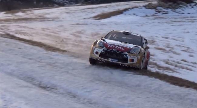 Een zeldzaam foutje van Sébastien Loeb