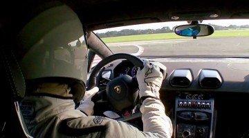 Onboard bij The Stig in de Lamborghini Huracán