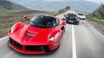 Top Gear brengt LaFerrari, McLaren P1 & Porsche 918 bij elkaar