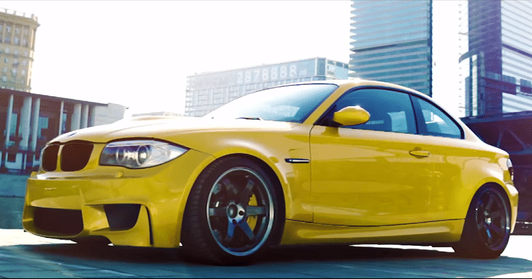BMW 1-Serie Coupe met E92 V8
