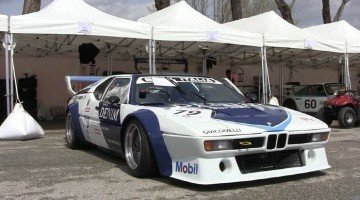 Onboard BMW M1 Procar at Imola