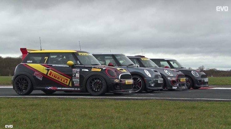 Deze Mini Race is een eerbetoon aan Best Motoring