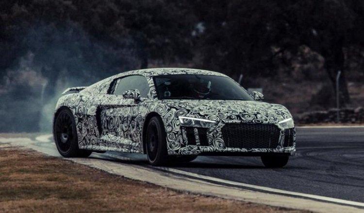 Nieuwe Audi R8 Teaser