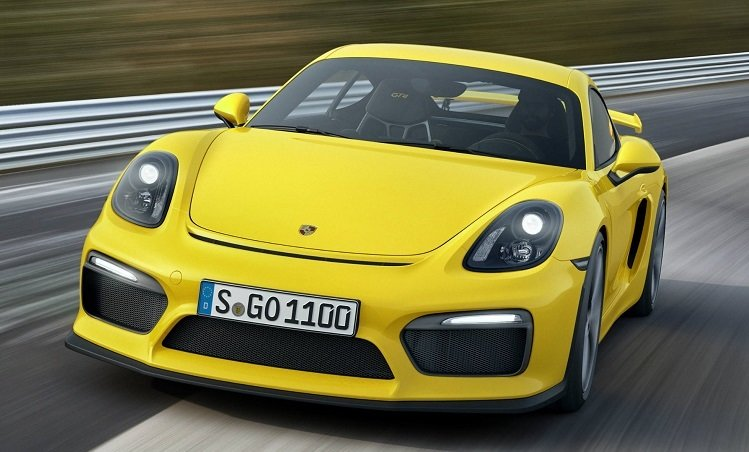 De Porsche Cayman GT4 is een 911-killer