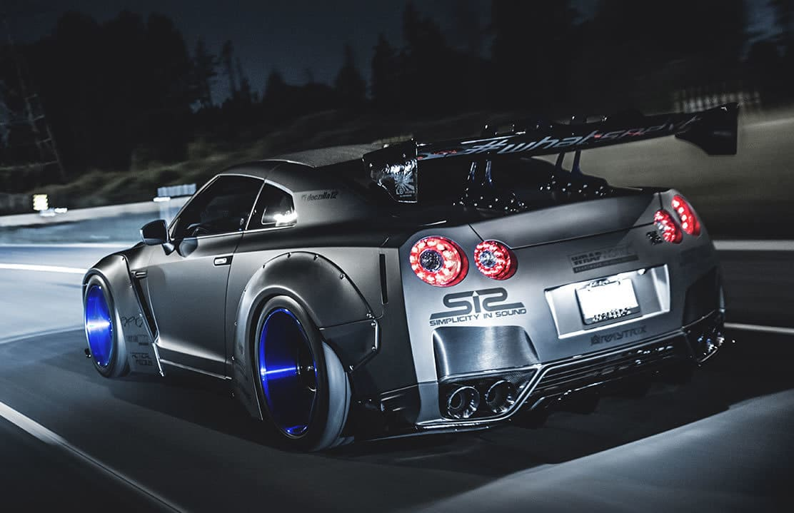 VIDEO: Prachtige Docu over een Liberty Walk R35 Nissan GT-R